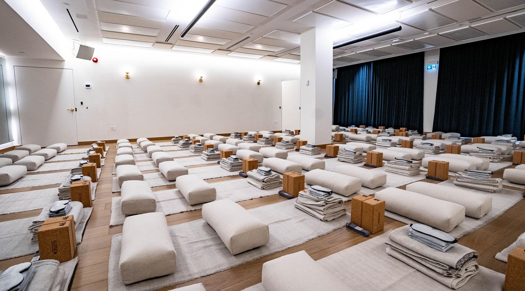 Image of the Sweat & Tonic Yoga studio